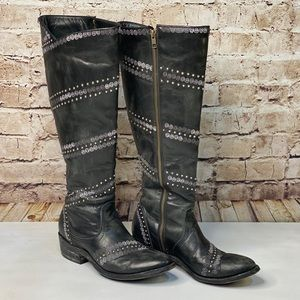 OLD GRINGO BOOTS ARDORA STUDDED EMBROIDERED TALL